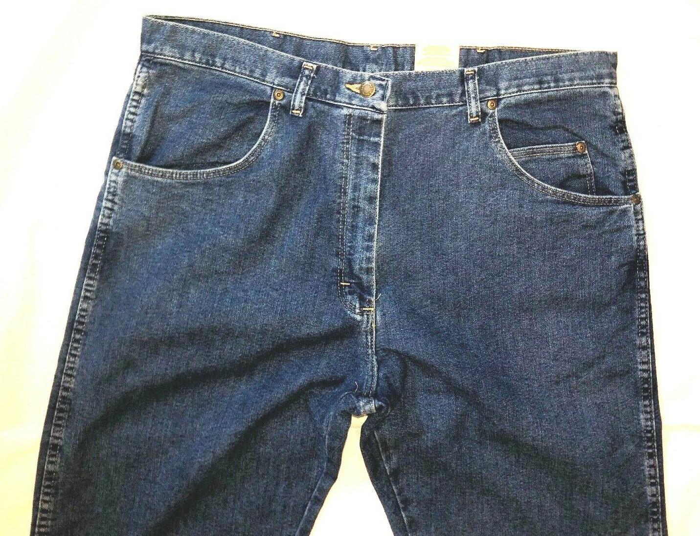 Wrangler Men's Relaxed Fit Stretch Size X New