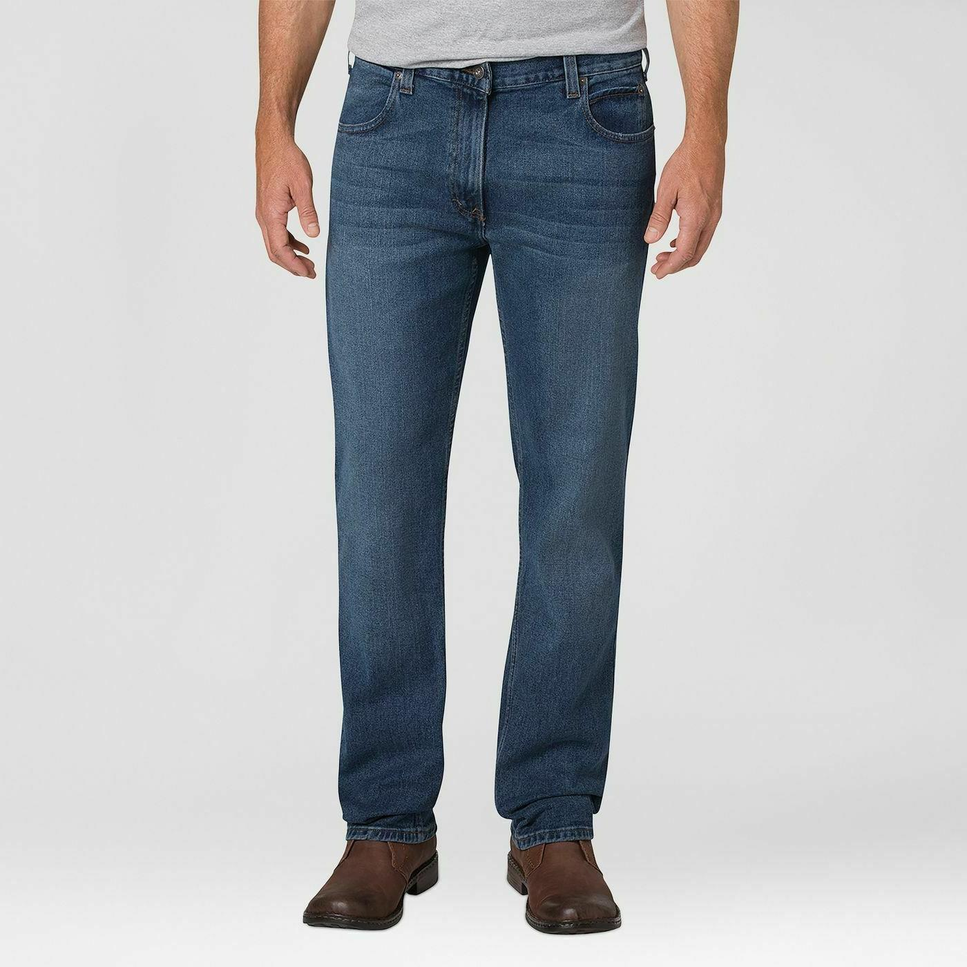 men s relaxed straight fit flex jeans