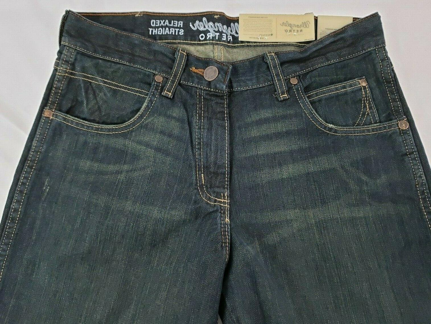 Wrangler Men's Retro Relaxed Fit Mid Rise Cut