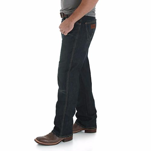 Wrangler Men's Relaxed Fit Rise Cut Jeans
