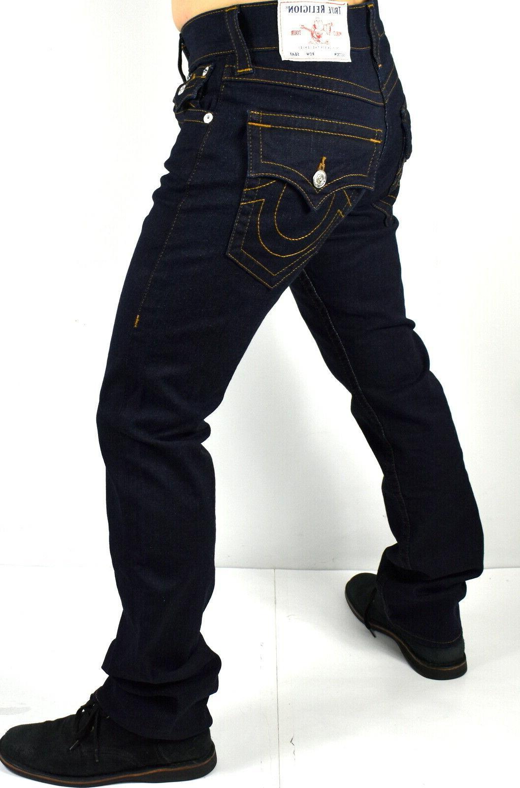 True Religion Ricky Dark Rinse Straight 102643