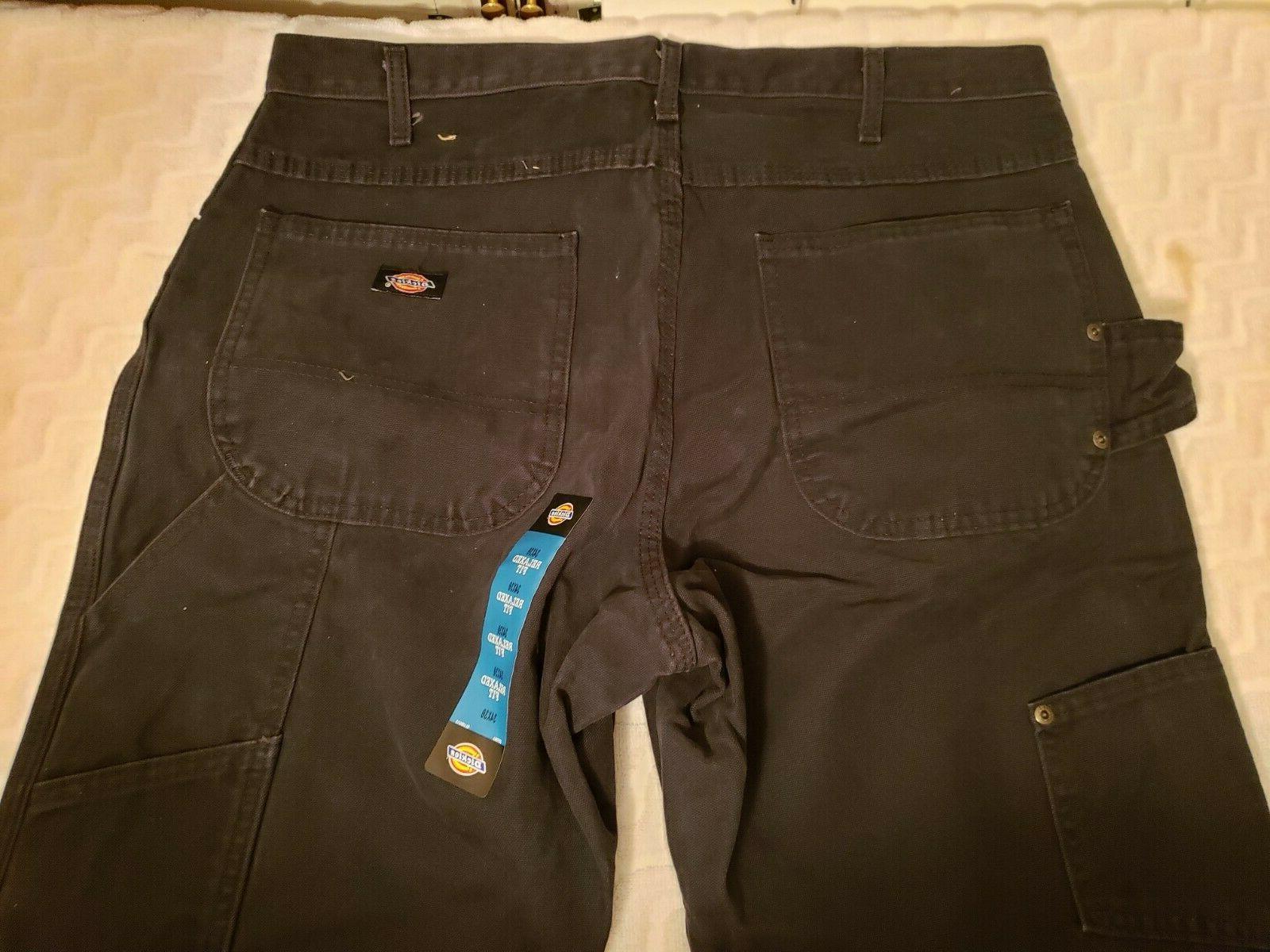 Dickies Men's Sanded Carpenter Black,