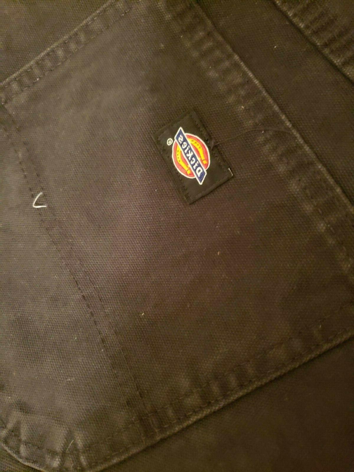 Dickies Men's Carpenter Jean, Black, 34x30