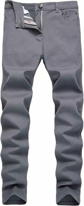 Nitagut Men'S Skinny Slim Fit Stretch Straight Leg Fashion J