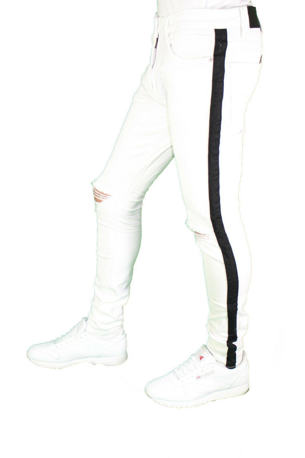 Men's Jordan Fit Skinny Stretch Denim Ripped