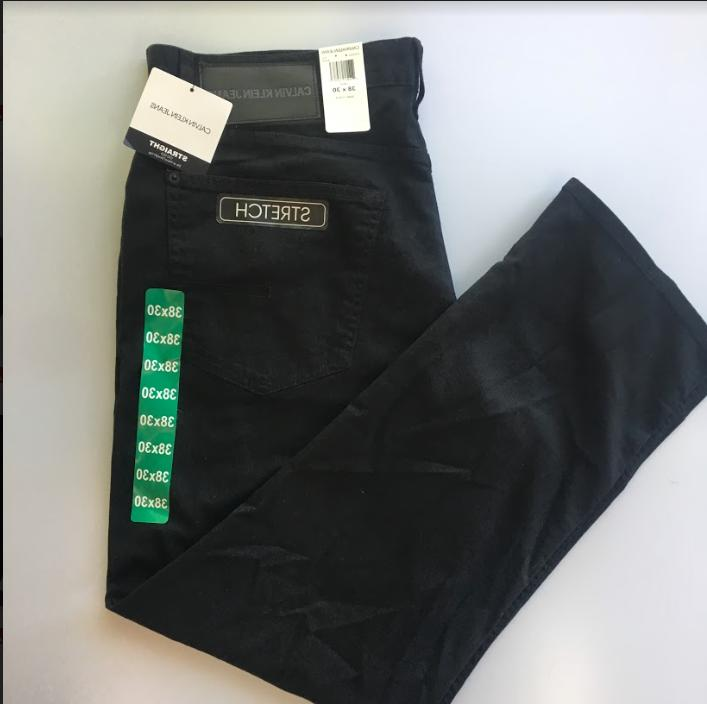 CALVIN MEN'S STRAIGHT LEG Jeans Size:Variety NWT!!
