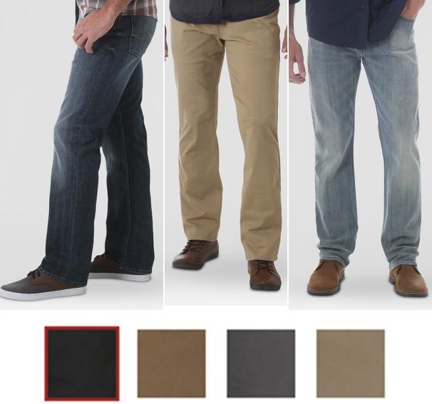 men s straight fit 5 pocket pants