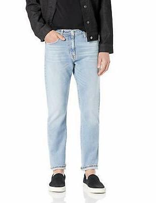 men s straight fit jeans cabana blue