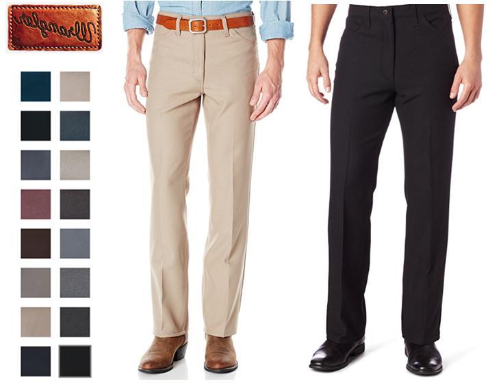 Men/'s Wrangler Wrancher Dress Jeans 100/% Polyester Size 28-42 00082