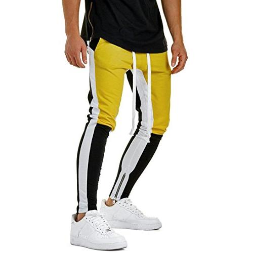 5a5aeffca3 AMSKY❤ Men Trouser, Fashion Slacks Active Running Gym