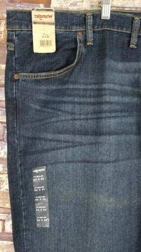 Mens 48 New Wrangler Fit Denim Jeans Big and Tall NWT