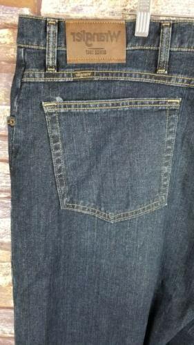 Mens 48 New Wrangler Denim Jeans Big Tall NWT