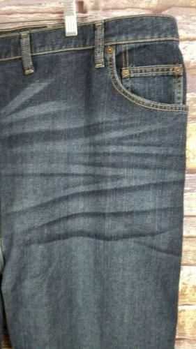 Mens New Relaxed Denim Jeans Big and Tall NWT