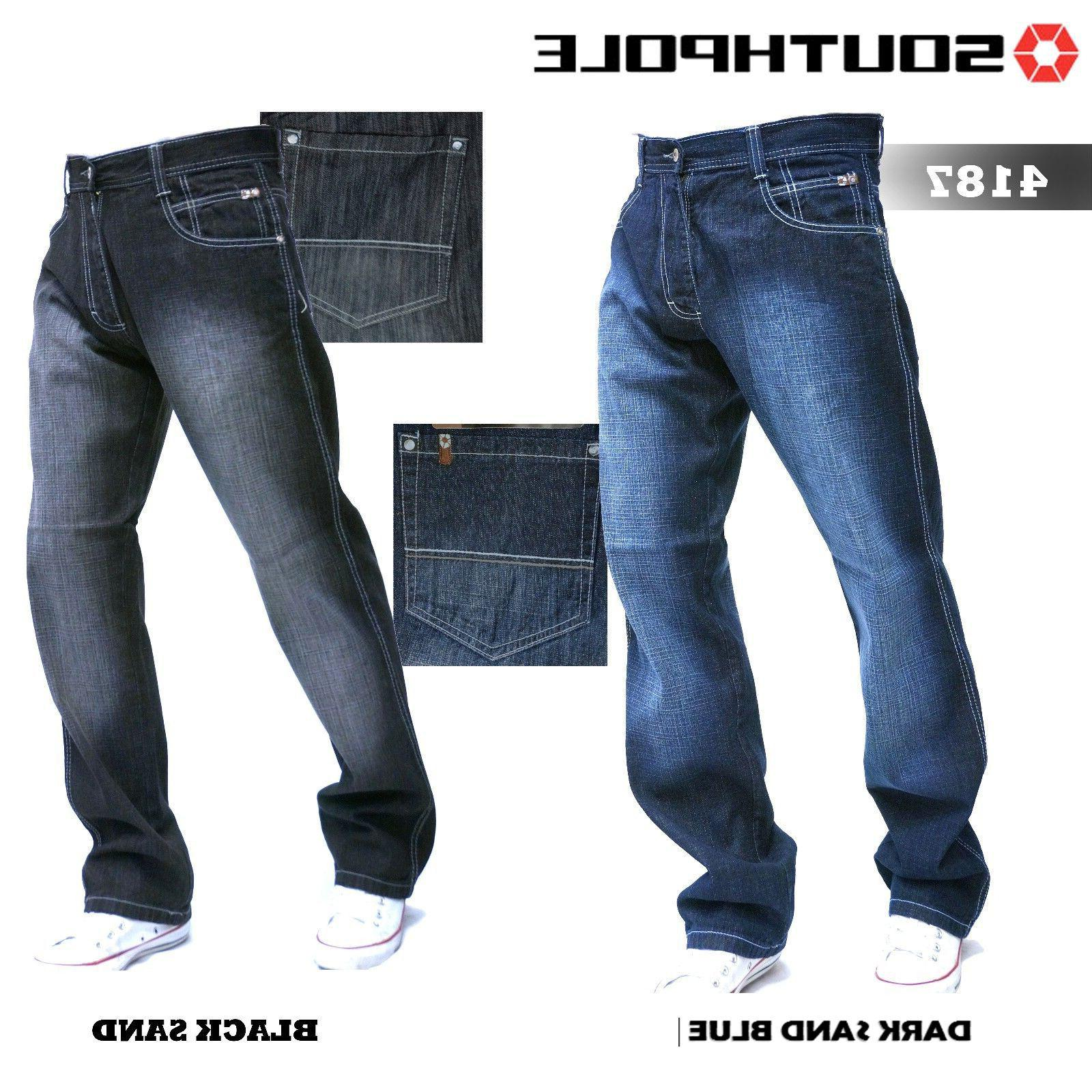 SOUTHPOLE Tall Fit Black 2125