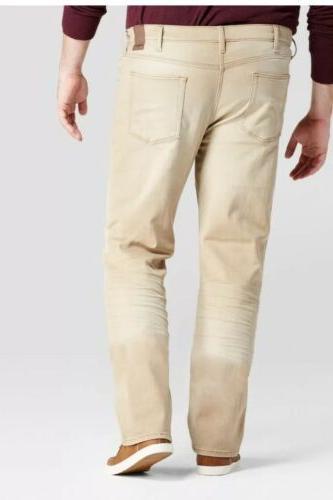 Mens Big And Slim Jeans,khaki Color Goodfellow