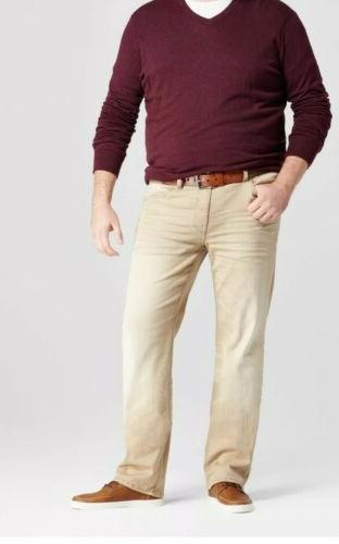 Mens Slim Straight Jeans,khaki Goodfellow