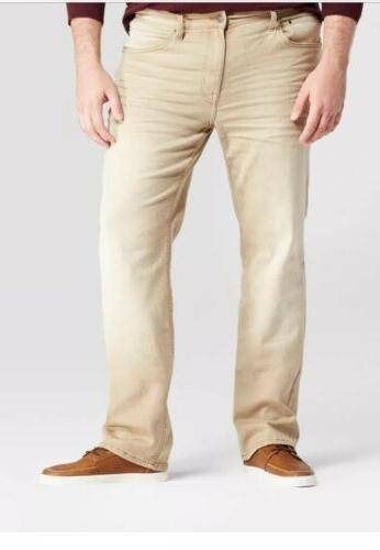 mens big and tall slim straight jeans