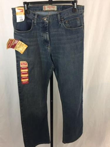 mens brand new relaxed fit bootcut jeans