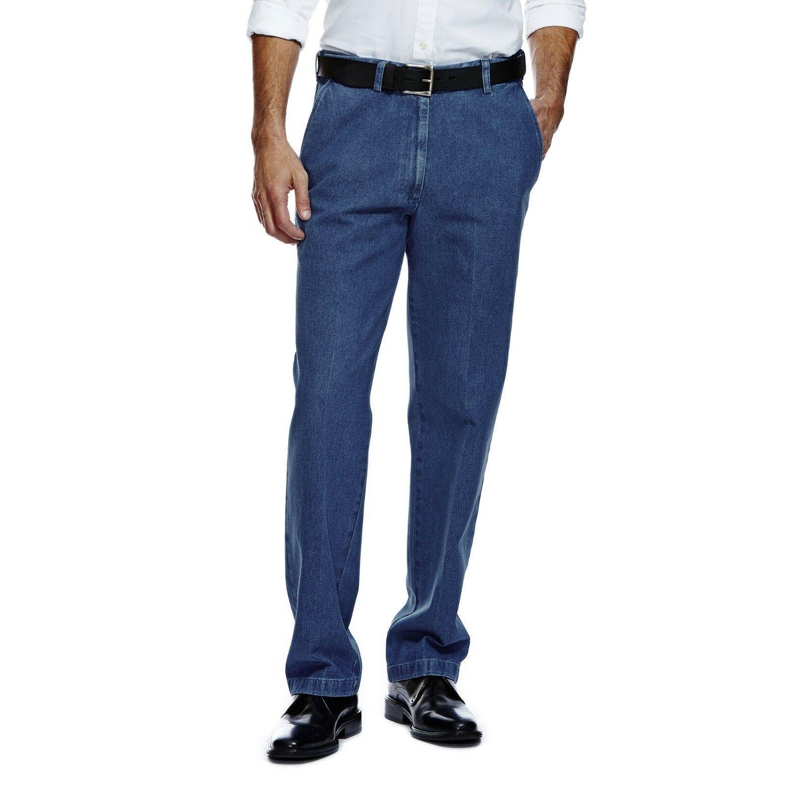 mens classic fit comfort waist work to