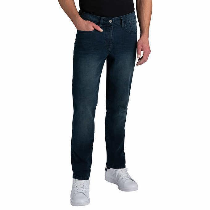 men s comfort stretch jeans blue select