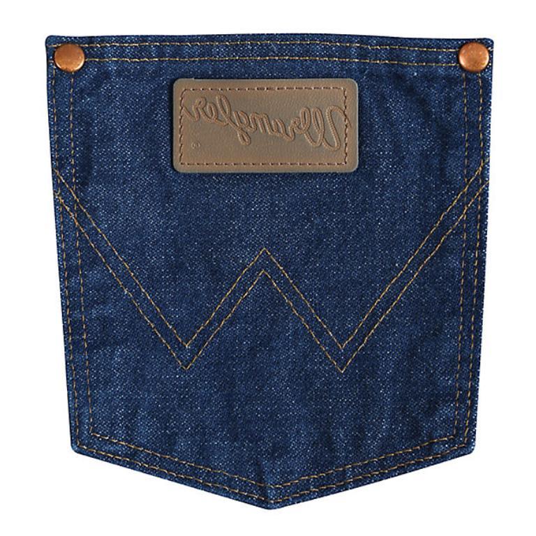 Wrangler Original Fit Indigo Jeans 13MWZGK SIZES!