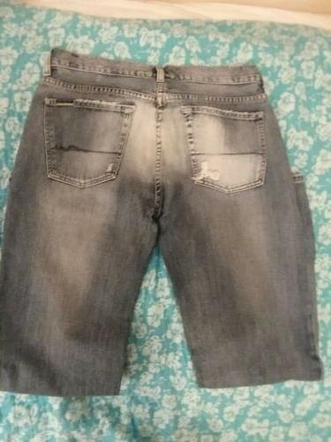 """Mens Distressed 7 For All Mankind Jeans 34""""x32"""""""