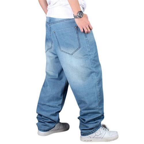 Men Loose Hip-Hop Skateboard Streetwear