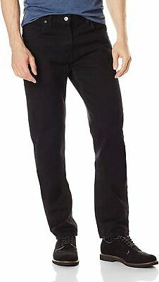 Dickies Mens Jeans Black Size 36X30 Five-Pocket Slim Fit Mid