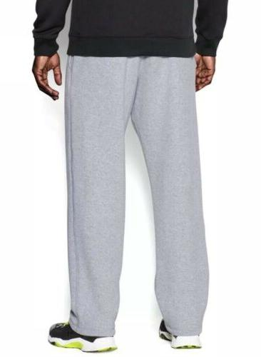 Under Armour Men's Rival Fleece Athletic Pants Loose Grey