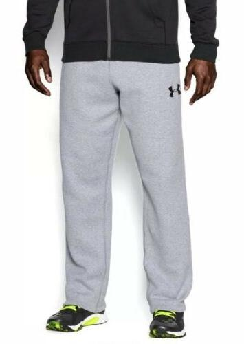 mens rival fleece athletic pants loose grey