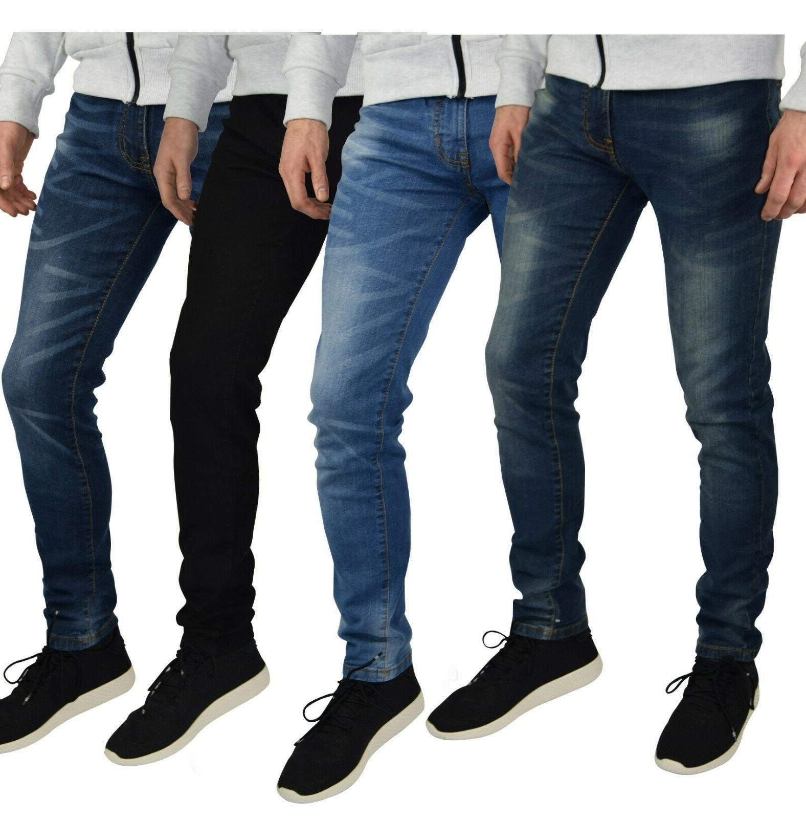 mens slim fit stretch jeans comfy fashionable