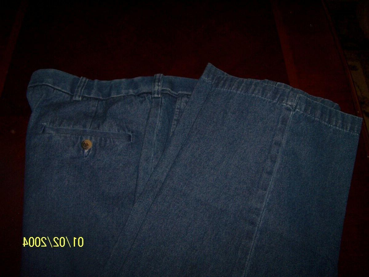Haggar Mens Work to Weekend Denim Classic Waist Jeans 30 NWT