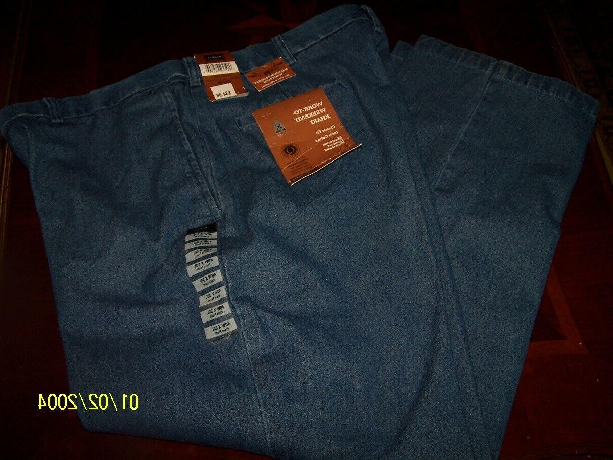 mens work to weekend denim classic expandable