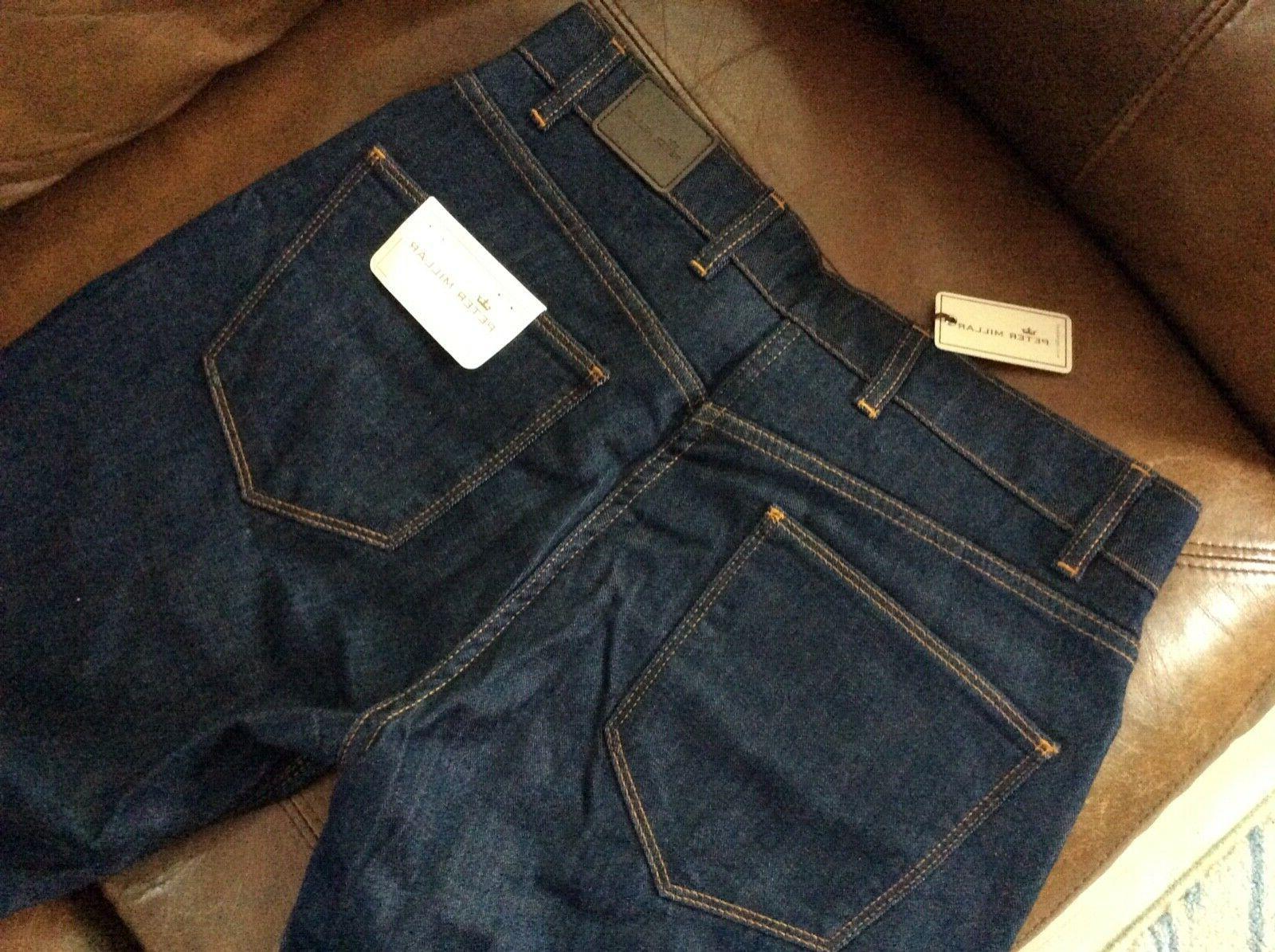 NEW $145.00 Straight Dark Jeans 33, 38,