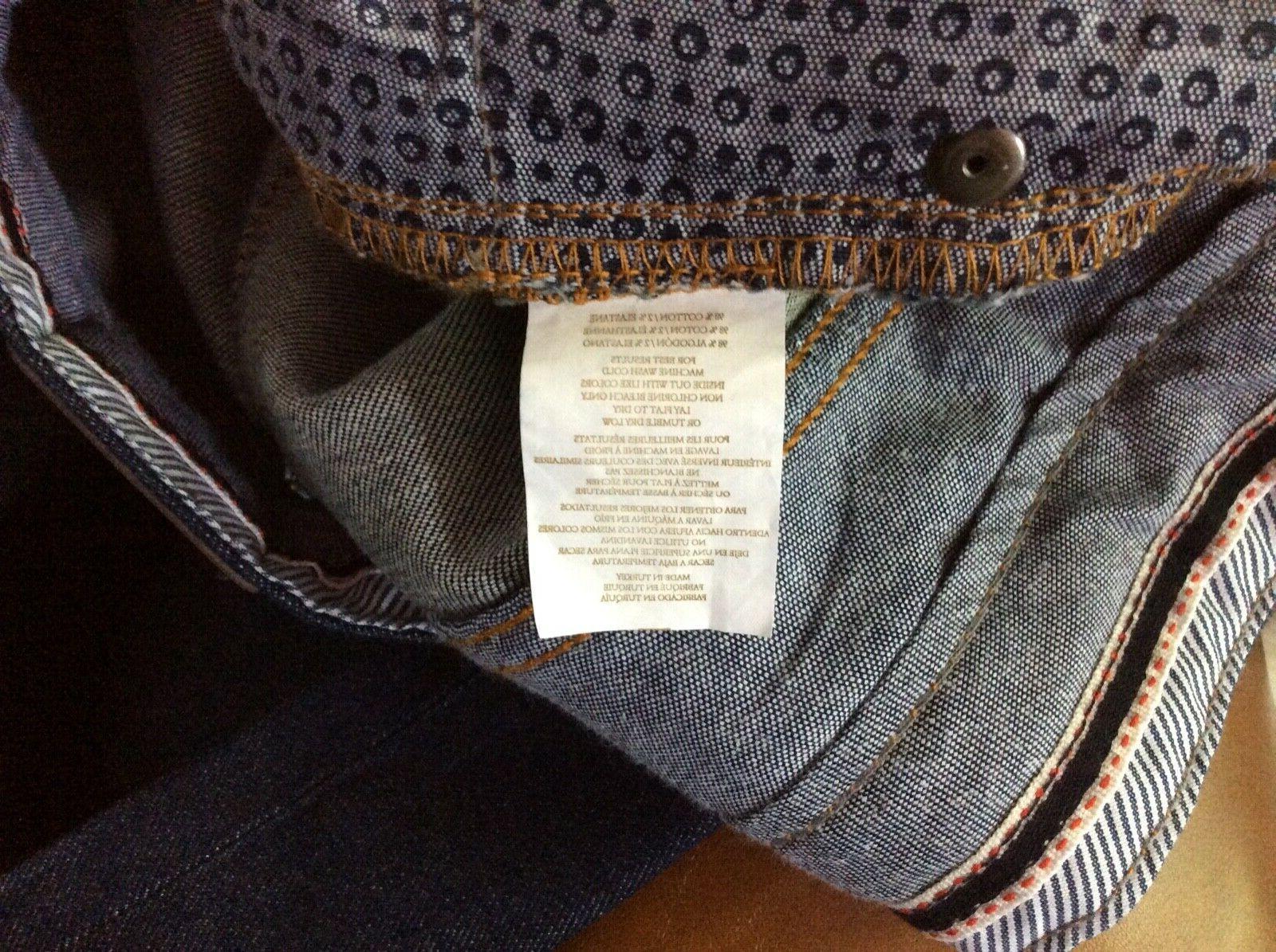 NEW $145.00 Peter Millar Straight Leg Jeans Men 32, 33, 40
