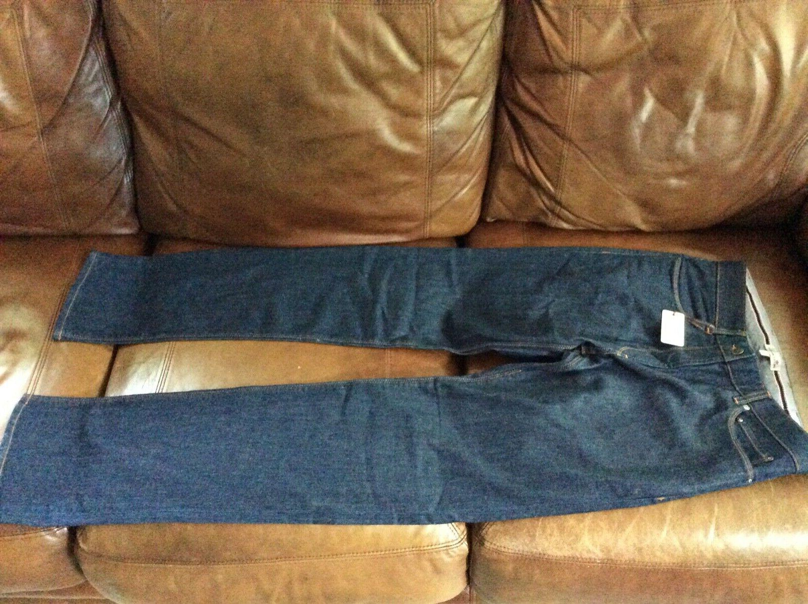 new 145 00 straight leg dark blue