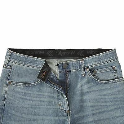 Wrangler NEW Bleached Men's Performance Series Flex Comfort Jeans