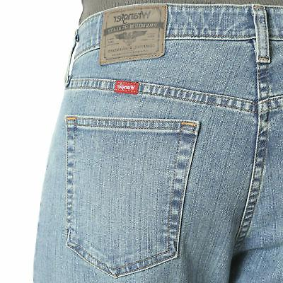 Wrangler NEW Bleached Performance Comfort Jeans