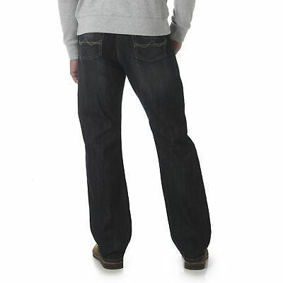 Wrangler NEW Boot Comfort Fit Mid Denim Jeans