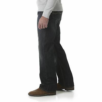 Boot Cut Leg Comfort Mid Rise Denim