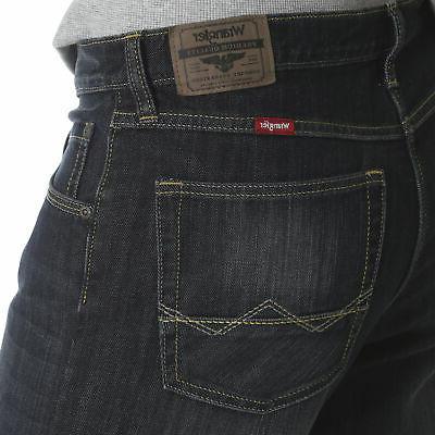 Wrangler Men's Boot Relaxed Comfort Denim Jeans