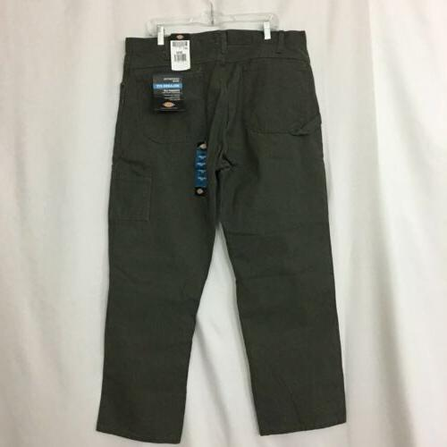 NEW Dickies Men's 38X30 Olive Work Pants