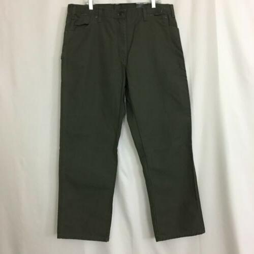 NEW Men's Olive Work Casual Pants