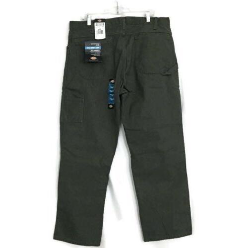 new carpenter jeans mens 38x30 straight olive