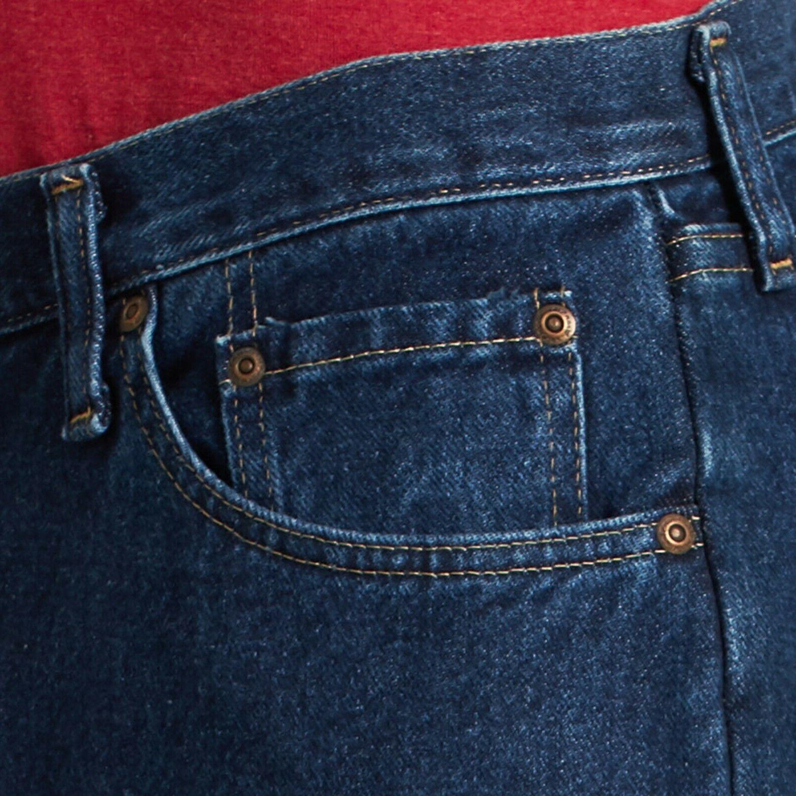 New premium Regular Fit Jeans Men's 36X34 indigo