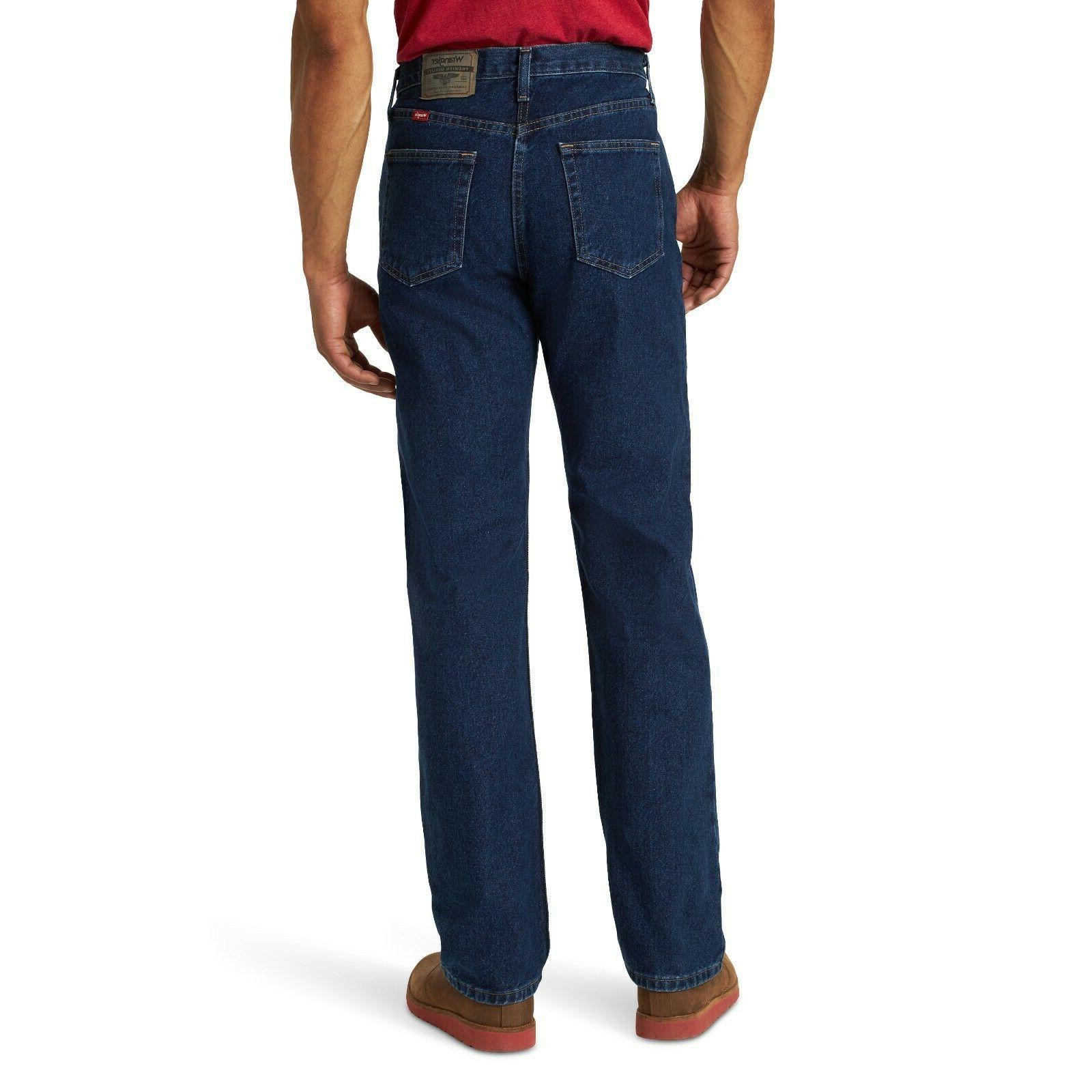 New premium Fit Jeans Men's Size Dark indigo