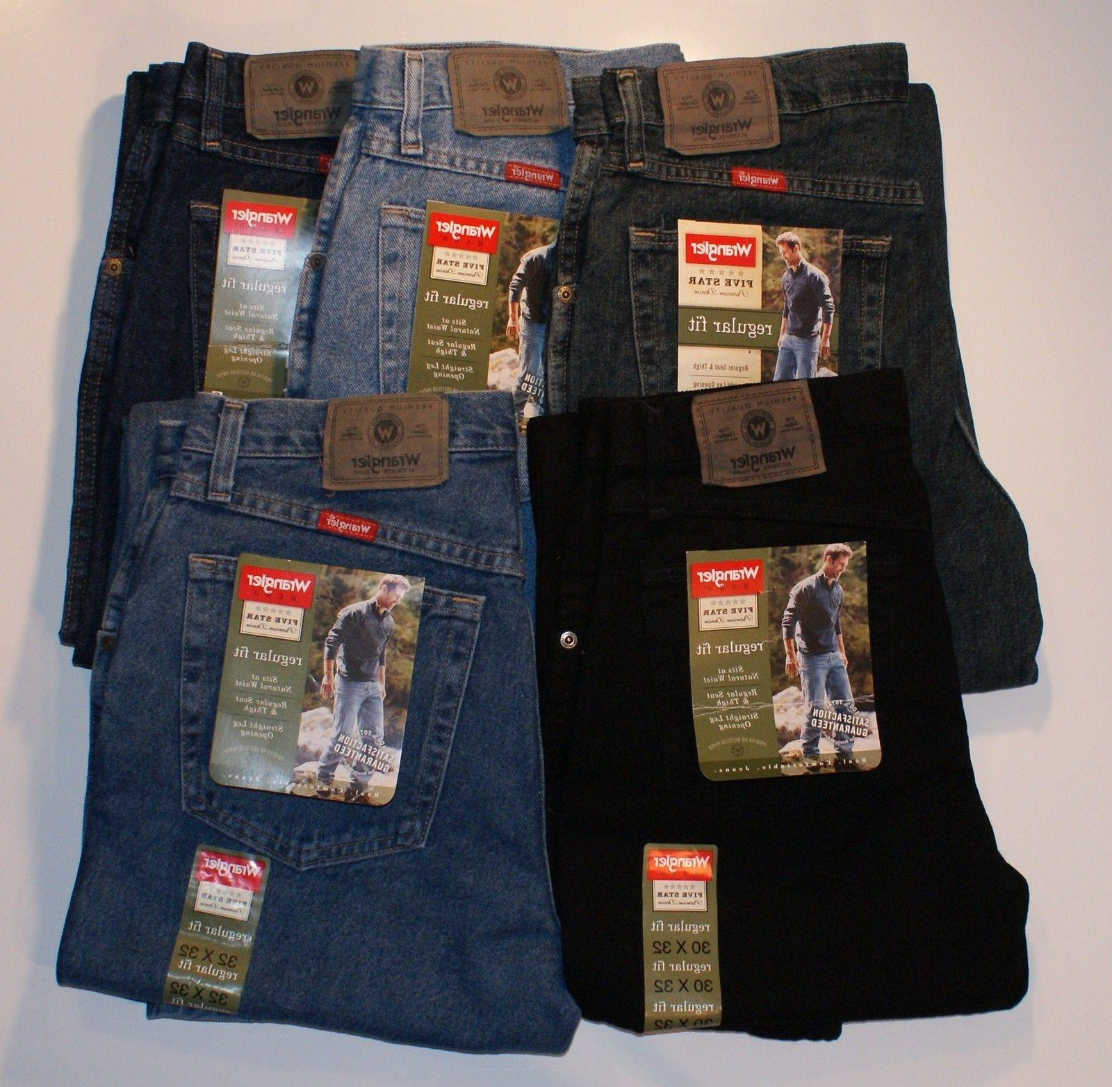 new five star regular fit jeans mens