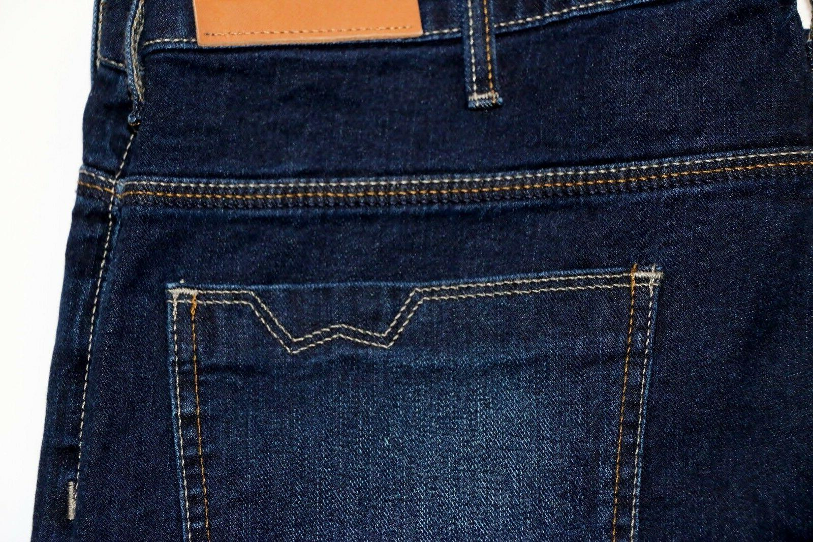 New Wrangler Straight Fit Jeans Selvedge Denim Men's