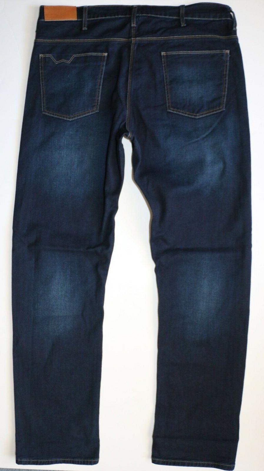 New Flex Straight Fit Jeans Denim Men's Sizes