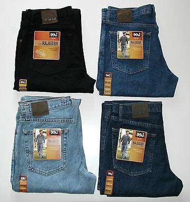 New LEE Fit Jeans All Men's Four Colors Collection